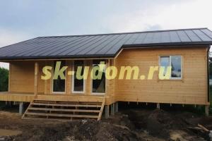 Строительство каркасного дома в с. Суромна Суздальского района Владимирской области