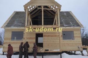 Строительство каркасного дома в г. Суздаль