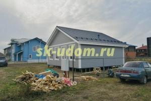 Строительство каркасного дома в г. Суздаль Владимирской области