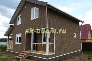 Строительство каркасного дома в ДНП Улыбка-1 Заокского района Тульской области