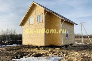 Каркасный дом для постоянного проживания в городе Вязники Владимирской области