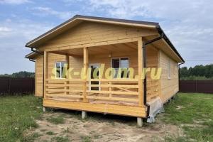 Строительство каркасного дома по индивидуальному проекту в г. Владимир