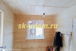 Строительство каркасного дома для постоянного проживания в посёлке имени Воровского Ногинского района Московской области