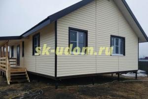 Строительство каркасного дома для постоянного проживания в городе Воскресенск Московской области
