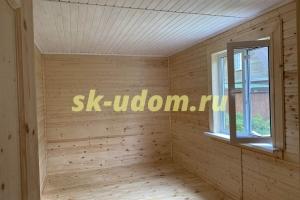 Строительство каркасного дома в СНТ Заря Киржачского района Владимирской области