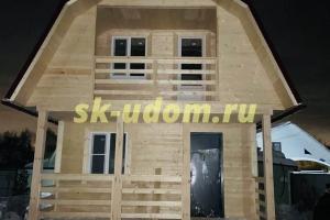 Строительство каркасного дома в СНТ Земляничка Ногинского района Московской области