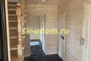 Строительство каркасного дома в д. Знаменское Киржачского района Владимирской области