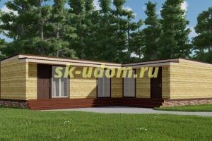 Каркасный дом. Проект ДК-103