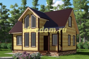 Проект каркасного дома 7х9 для постоянного проживания