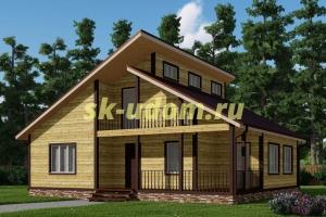 Каркасный дом. Проект ДК-51