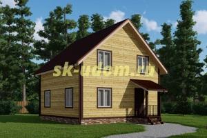 Каркасный дом. Проект ДК-86
