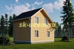 Дачный дом. Проект ДКД-12