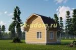 Дачный дом. Проект ДКД-13