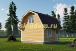 Дачный дом. Проект ДКД-15
