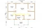 Дачный дом. Проект ДКД-20