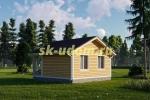 Дачный дом. Проект ДКД-21