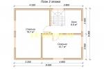 Дачный дом. Проект ДКД-25