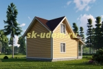 Дачный дом. Проект ДКД-26