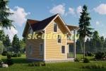 Дачный дом. Проект ДКД-27