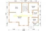 Дачный дом. Проект ДКД-5