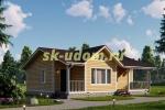 Дачный дом. Проект ДКД-6