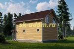 Дачный дом. Проект ДКД-9