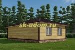 Каркасный дом 8х12 для постоянного проживания