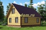 Каркасный дом. Проект ДК-1