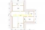 Большой зимний каркасный дом - планировка мансардного этажа