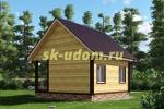 Каркасный домик 6х6