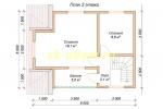 Каркасный дом. Проект ДК-28