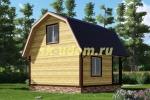 Каркасный дом. Проект ДК-31