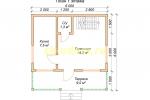 Каркасный дом. Проект ДК-32