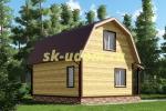 Каркасный дом. Проект ДК-35