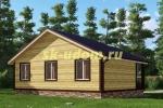 Каркасный дом. Проект ДК-36