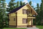 Каркасный дом. Проект ДК-37