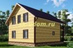 Каркасный дом. Проект ДК-4
