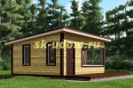 Каркасный дом. Проект ДК-43