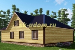 Каркасный дом. Проект ДК-45