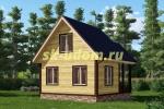 Каркасный дом. Проект ДК-46
