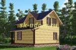 Каркасный дом. Проект ДК-48