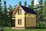 Каркасный дом. Проект ДК-50