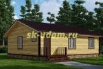 Каркасный дом. Проект ДК-56