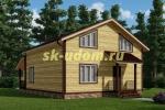 Каркасный дом. Проект ДК-57