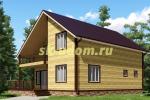 Каркасный дом. Проект ДК-7