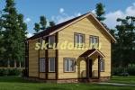 Каркасный дом. Проект ДК-70