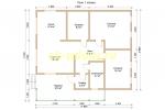 Каркасный дом. Проект ДК-73