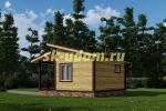 Каркасный дом. Проект ДК-74
