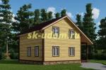 Каркасный дом. Проект ДК-76
