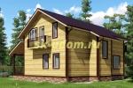 Каркасный дом для постоянного проживания 10х10.5